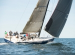 AURORA 1 2017 Vineyard Race  reaching on port from aft quarter
