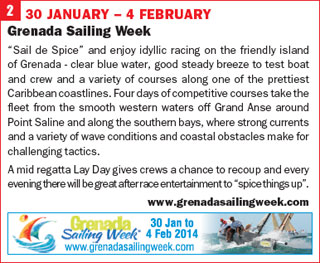 Click for more info on Grenada Sailing Week