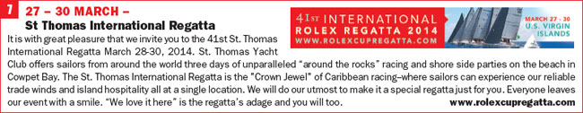 Click for more info on St Thomas International Regatta