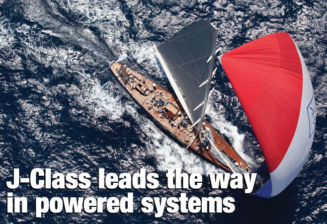 J-Class leads the way in powered systems