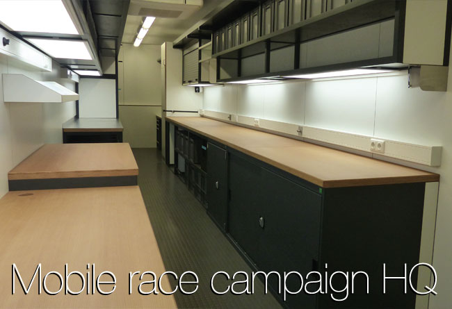 Mobile race campaign HQ