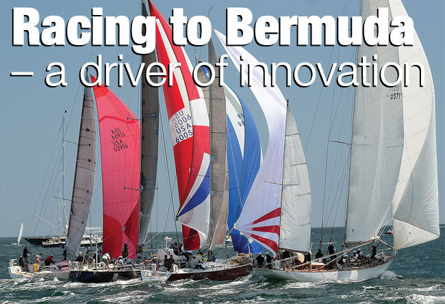 Racing to Bermuda