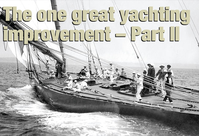 The one great yachting
