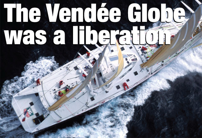 The Vendée Globe was a liberation