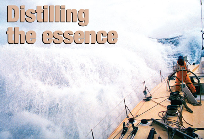 Distilling the essence